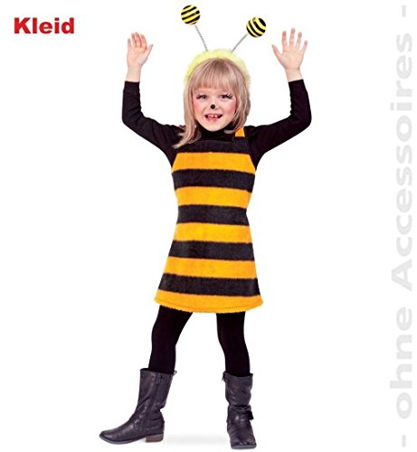 Bienchen Biene Kleid Plusch 98 Baby Kleinkind Kinder Kostum Fasching