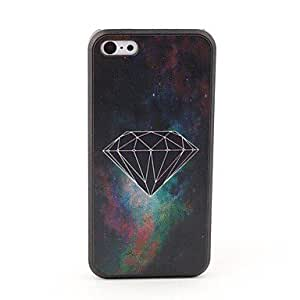 HP Black Diamond Style Protective Back Case for iPhone 5C