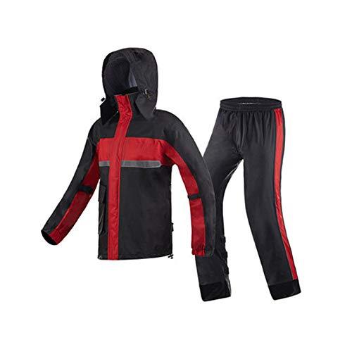 rouge XX-grand DQMSB Pantalon imperméable imperméable imperméable imperméable (Couleur   rouge, Taille   XXL)