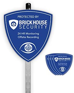 Brickhouse Security Surveillance Stickers Version product image