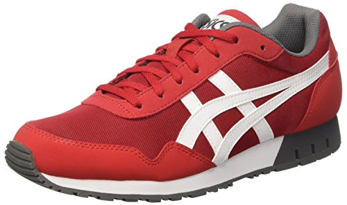 Asics Rouge True Red Basses Curreo Homme White Sneakers q4qpBH