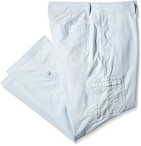 Eddie Bauer, Pantalones para Mujer Azul (Rauchiges Blau)