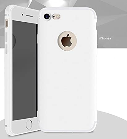 online store bf073 386ae DORRON iPhone 7 White - NEW Candy Color Ultra Thin: Amazon.in ...