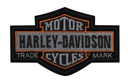 Harley-Davidson Nostalgic Bar & Shield Patch SM 4 1/2'' x 2 7/8'' EM313752