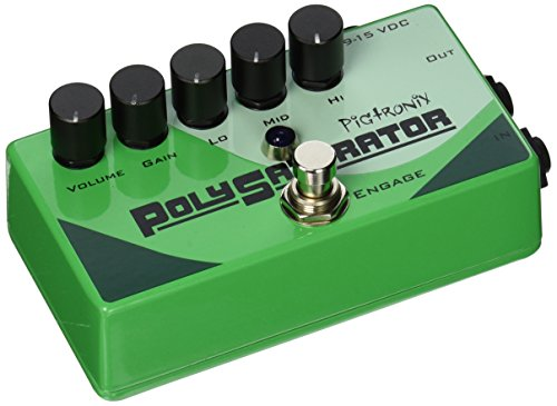Pigtronix PSO Guitar Distortion Effect Pedal
