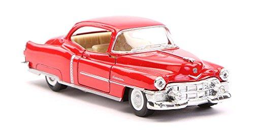 [해외]1953 Cadillac Series 62 Red - Kinsmart 5339D - 143 scale Diecast Model Toy Car (Brand New but NO BOX) / 1953 Cadillac Series 62, Red - Kinsmart 5339D - 143 scale Diecast Model Toy Car (Brand New, but NO BOX)