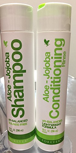 Forever New & Improved Aloe-Jojoba Shampoo & Conditioning Rinse (SULFATE FREE)