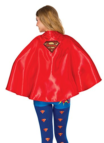 Superman Cape For Adults (Rubie's Costume Co Women's DC Superheroes Cape,)