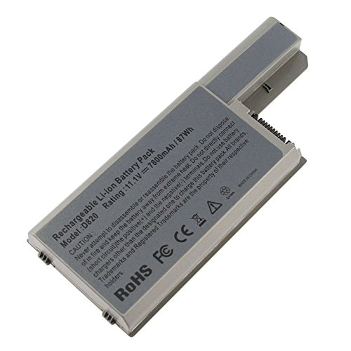 Fancy Buying 9 Cells 7800mAh Laptop Battery for Dell Latitude D830 D820 D531, Dell Precision M4300 M65, fits P/N CF623 DF192 FF232 MM165-12 Months Warranty ()
