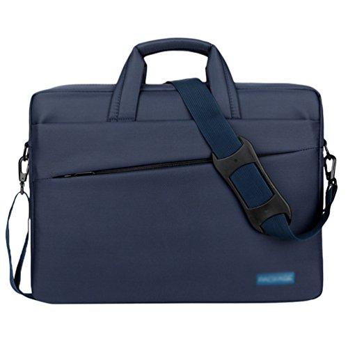 Nylon For Sunwanyi Office Shoulder Computer Men Travel Messenger Blue2 Laptop Women Resistant Bag aq6qrt