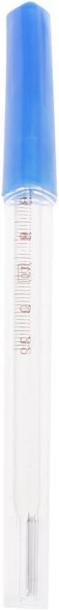 jiheousty termómetro de Vidrio Triangular 35-42 Ç axila artículos médicos domésticos orales