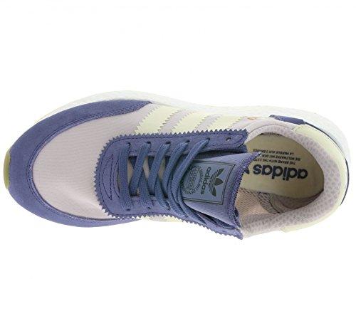 adidas Iniki Runner W, Zapatillas para Mujer super purple-cream white-ice purple