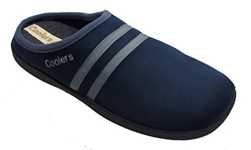 Coolers - Zapatillas de estar por casa para hombre azul - azul marino