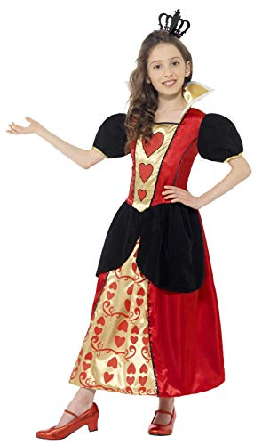 Miss Hearts Queen Kids Costume -