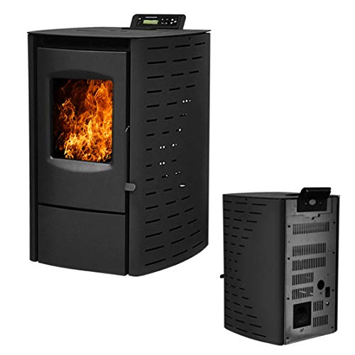Cheap Deari Serenity Wood Pellet Stove - Electric Fireplace Heater with Smart Controller Nextstep Black Friday & Cyber Monday 2019