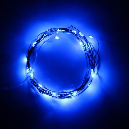 BINZET 2m 20leds Flexible LED Soft Wire String Lights