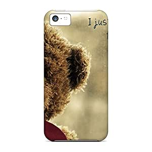 Day Life Iphone 5c Well-designed Hard Case Cover Teddy Bear Heart Protector