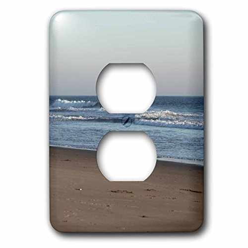 Henrik Lehnerer Designs - Seascape - Sunset time at Ormond Beach with beautiful sky and blue water. - Light Switch Covers - 2 plug outlet cover - Oxnard Outlet
