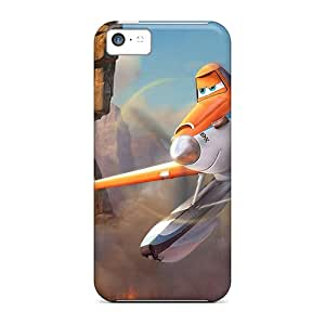 Ultra Slim Fit Hard Deniore Case Cover Specially Made For Iphone 5c- Planes Fire Rescue