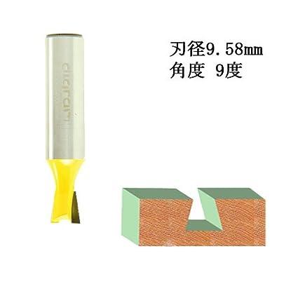 ディグラム dm09301 アリ錐・ルータービット1/2(刃径9.58mm)