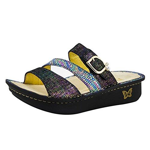 Alegria Womens Colette Slide Sandal Unity Blue Size 35 EU (5-5.5 M US Women)