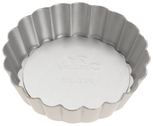 Fat Daddio's 3 3/4-Inch Removable Bottom Mini Tart Pan by Fat Daddios