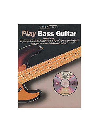 Step One Play Bass Guitar +CD