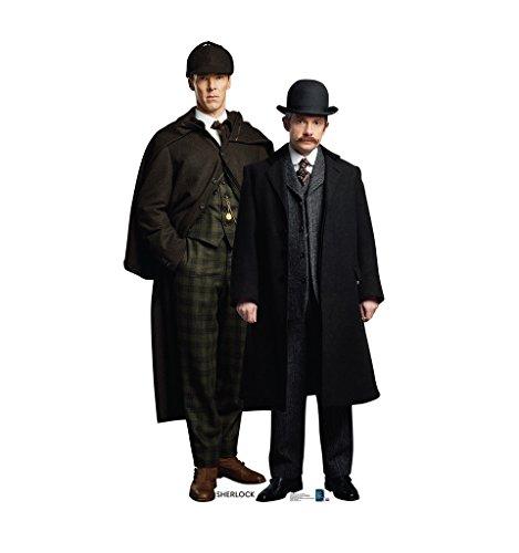Sherlock and John Watson - BBC's Sherlock - Advanced Graphics Life Size Cardboard Standup