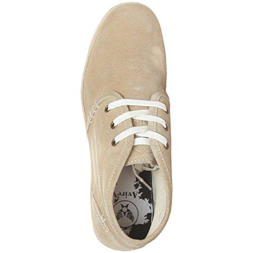 AVIREX 91708 High Top Sneakers Stiefeletten Boots Schnürer EU 40-44 UK 7-10 sand grau Wildleder Suede Sand