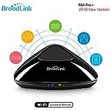 Broadlink RM Pro+ WiFi Smart Home all in one automazione apprendimento telecomando universale compatibile per dispositivi iOS/Android (nero, EU standard) …