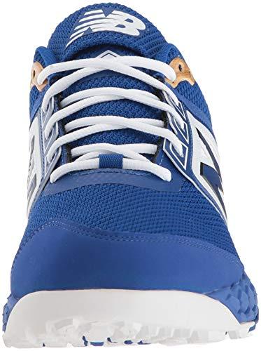 3000v4 Royal Men's Turf Balance New Baseball White Shoe YERSP