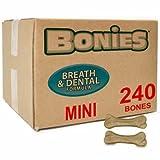 BONIES Natural Dental Health BULK BOX MINI (240 Bones)