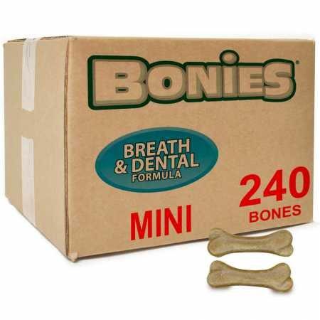 BONIES Natural Dental Health BULK BOX MINI (240 Bones) by Bonies