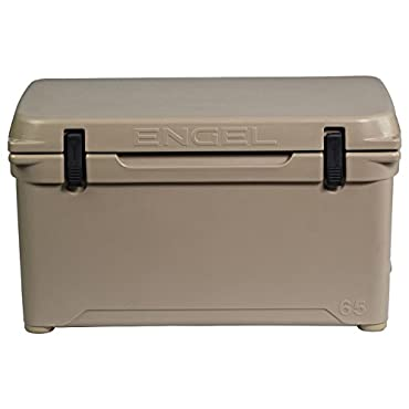 Engel 65 High-Performance Roto-Molded Cooler, Tan (ENG65-T)