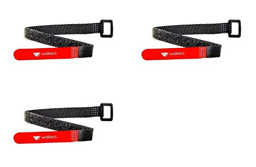 3 x Quantity of Walkera Rodeo 110 FPV Racing Quadcopter Rodeo 110-Z-20 Strap Holder Fuzzy Battery Harness Flap Band Fastener to Secure Battery
