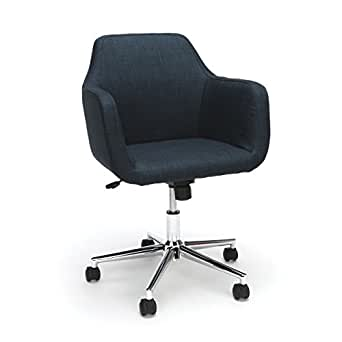 Amazon.com: Essentials Upholstered Home Office Chair - Ergonomic ...