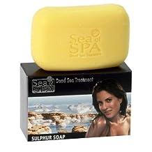 Sea Of Spa Dead Sea Sulphur Soap: Psoriasis, Eczema Treatment