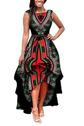 Beach Sleeveless Coolred Tunic Black Long Women Dress x8q8InS0R