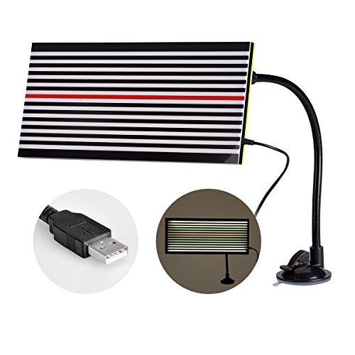 Super PDR Led Double Panel Line Board Paintless Dent Repair Tool Kit Lamp Borde 5v 5m USB