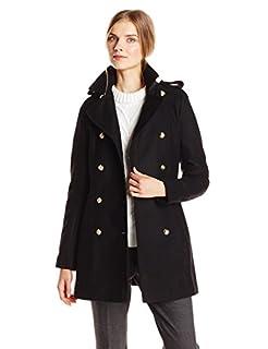 Via Spiga Women's Double Breasted Military Wool Coat, Black, 2 (B00YXFJYBO) | Amazon price tracker / tracking, Amazon price history charts, Amazon price watches, Amazon price drop alerts