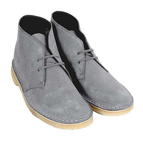 Clarks Originals - Zapatillas de Otra Piel para hombre azul gris, azul