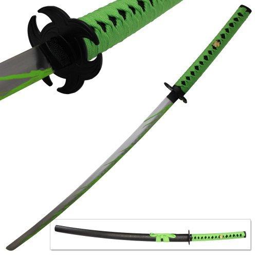 [Biohazard Zombie Slayer Toxic Apocalypse Sword Michonne Walking Katana Dead Green] (Biohazard Costumes)