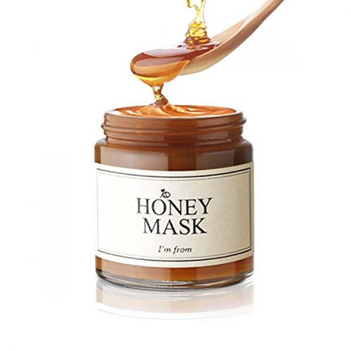 I'M From Honey Mask - Natural Herbal 38.7% Inside, Pure Mask - Deep Moisturizing, Soothing & Nourishing