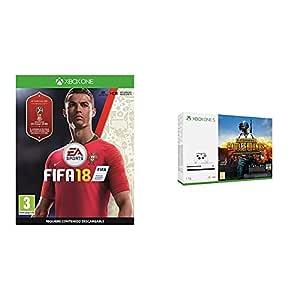 FIFA 18 - Edición estándar + Xbox One S - Consola de 1 TB