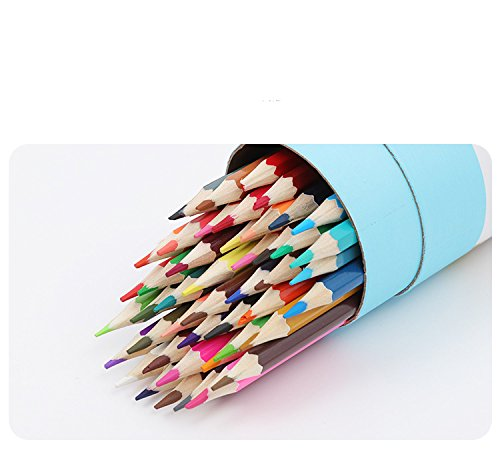 48-color Colored Pencils/ Drawing Pencils for Artist Sketch/Coloring Book(Not Included) (blue) Photo #3