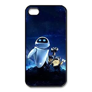 iphone4 4s Black phone case Disney Cartoon Comic Series Wall-E QBC3079390