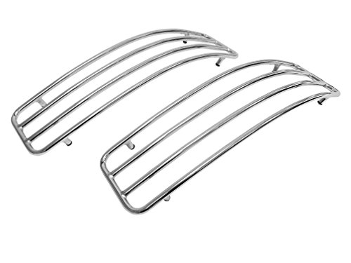 Chrome Top Rails for Kawasaki Vulcan VN1500 VN1600 VN1700 Nomad Hard (Vulcan Nomad)
