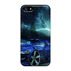 AMY KS Slim Fit Tpu Protector JMo5851CoJH Shock Absorbent Bumper Case For Iphone 5/5s