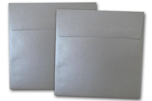 - Stardream Metallic Silver 6 Inch Envelopes - 25 Pack