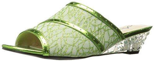 Chaussures Annie Femmes Midnight Slide Sandal Lime
